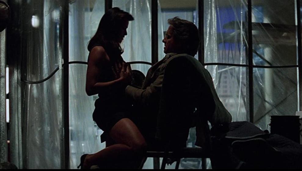 映画『ディスクロージャー』の一場面