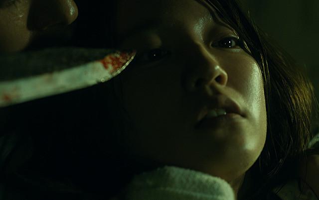映画『見えない目撃者』の一場面
