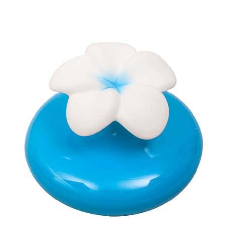 雞蛋花陶瓷擴香瓶-藍