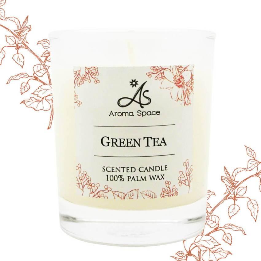 綠茶香氛小蠟燭-55g