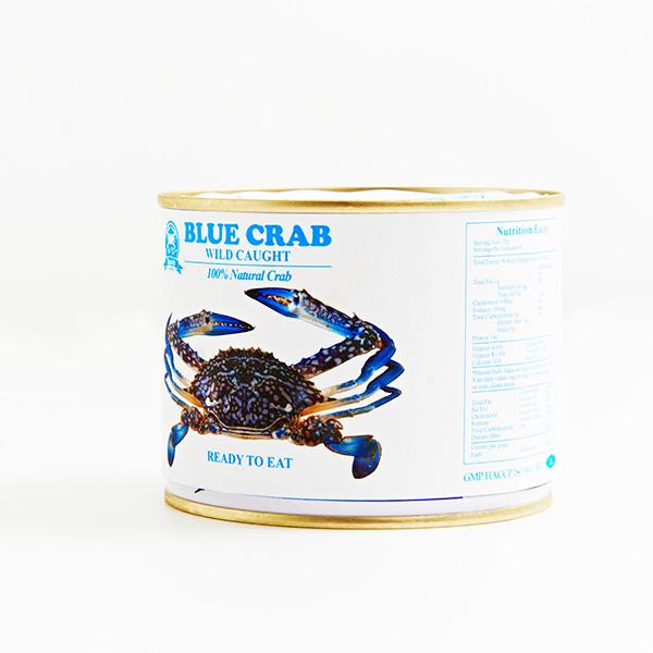 即食蟹肉 : 黃金蟹管肉(開罐即食) 454g