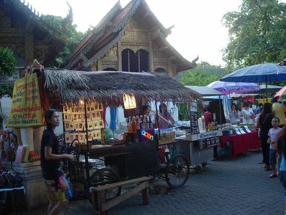 Sunday Walking Street Market Chiang Mai