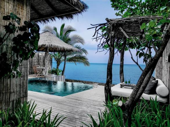 Bazének Song Saa Kambodža