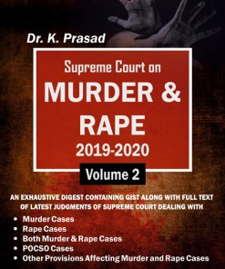 Supreme Court on MURDER & RAPE 2019-2020 – Volume 2