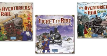 Les différentes versions des Aventuriers du Rail