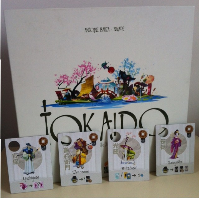 Tokaido - Boite