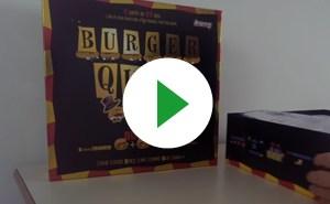 A l'intérieur de la boîte de Burger Quiz