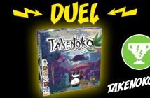 Takenoko remporte le duel face à Tokaido