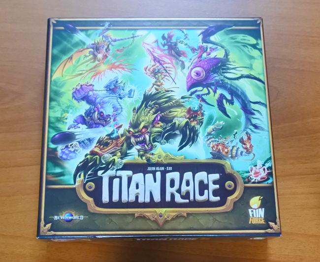 Titan Race de Julian Allain