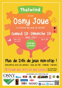 Affiche Osny Joue 2017