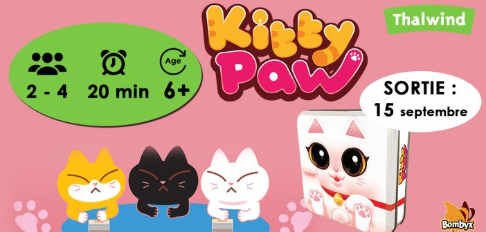 Kitty Paw - Sortie le 15 septembre