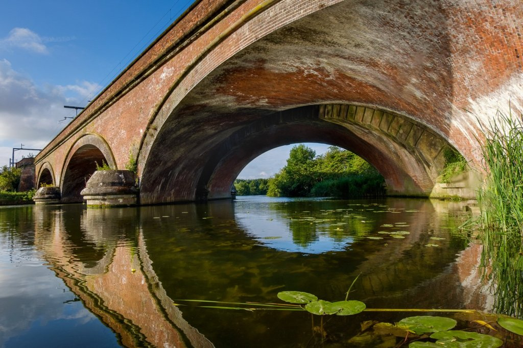Moulsford Railway Bridge, River Thames, near South Stoke, Oxford