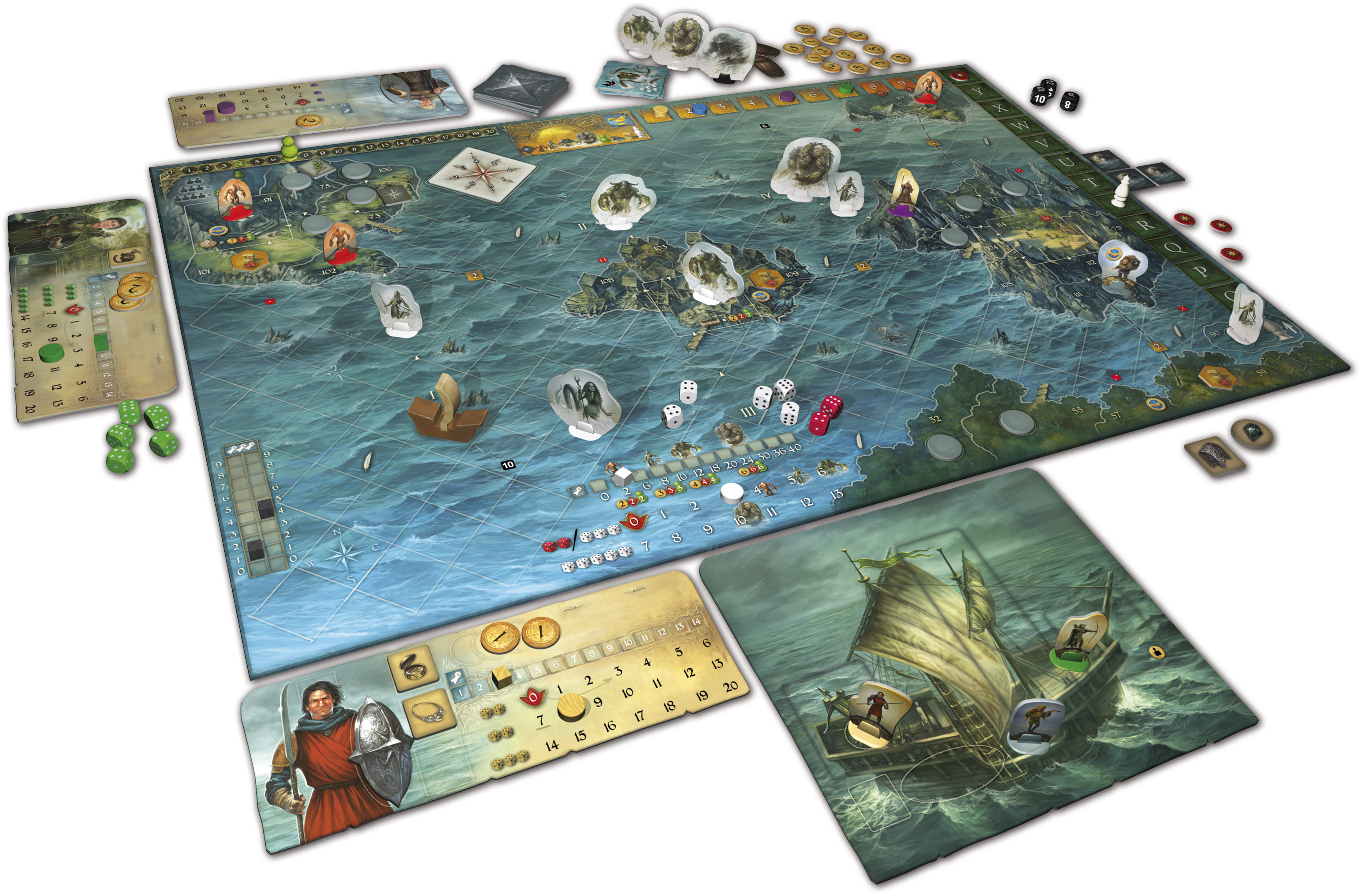 Image result for Legends of Andor: Journey to the North
