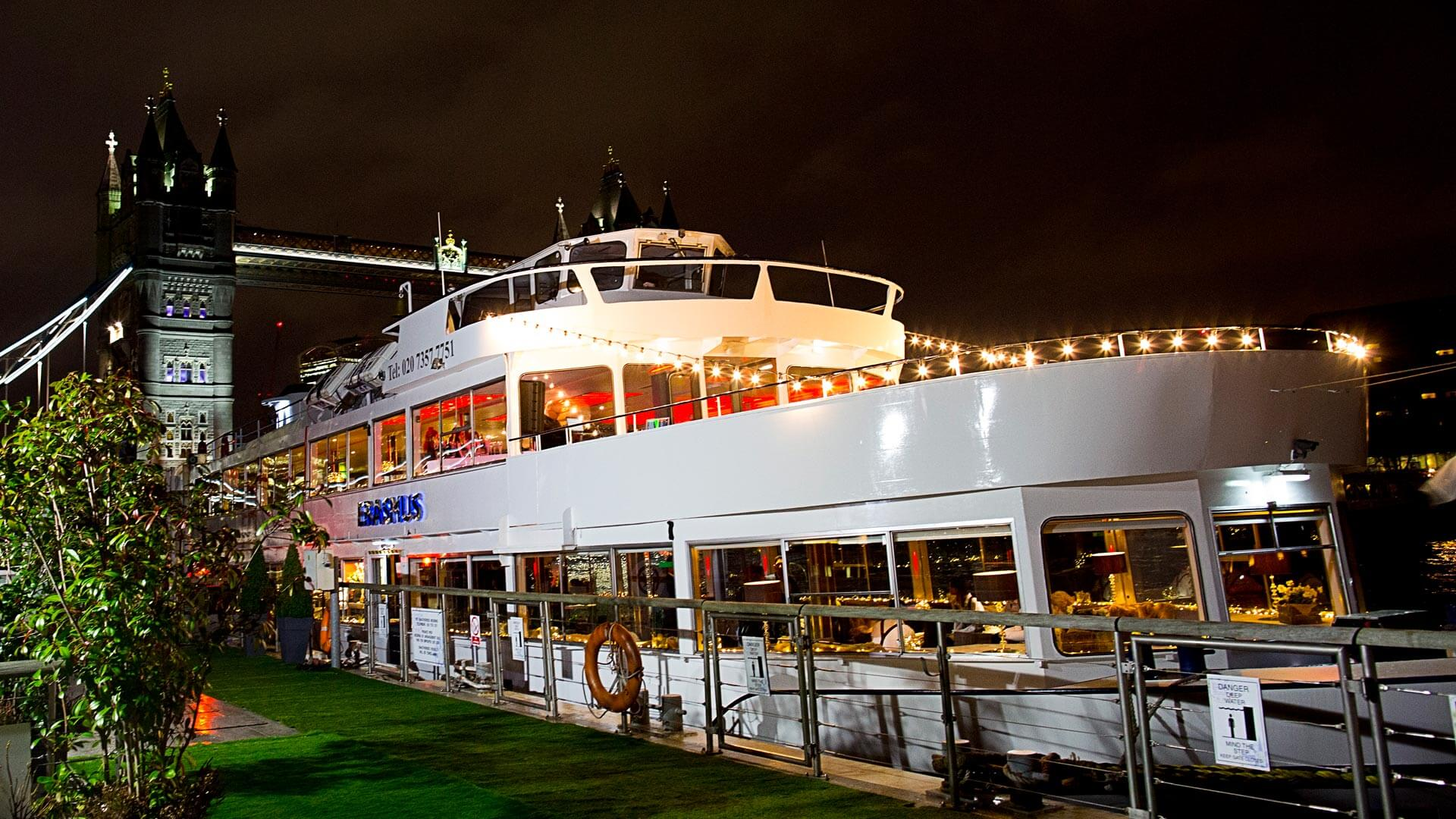 Erasmus Party Boat Thames Luxury Charters Private