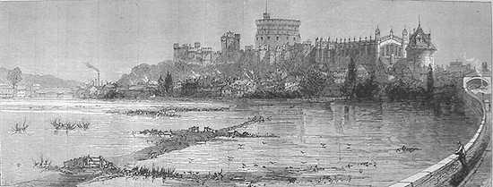 Floods January 1872