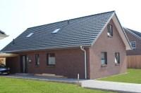 haus roter klinker >> einfamilienhaus mit gro 223 en dach