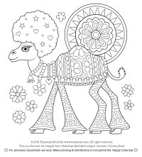 Free Coloring Pages  Thaneeya.com