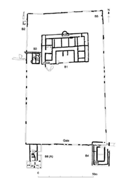 Introduction to the Abbey farm Roman Villa Painetd Wall