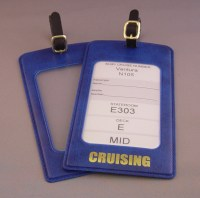 Royal Caribbean Cruise Luggage tag holders