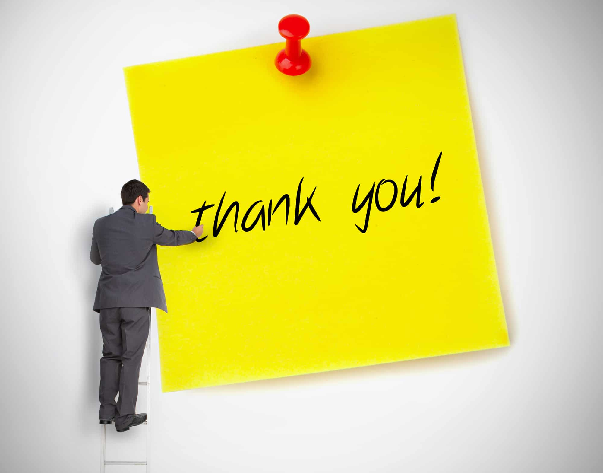 Creating Your Own Thank You Card For Colleagues