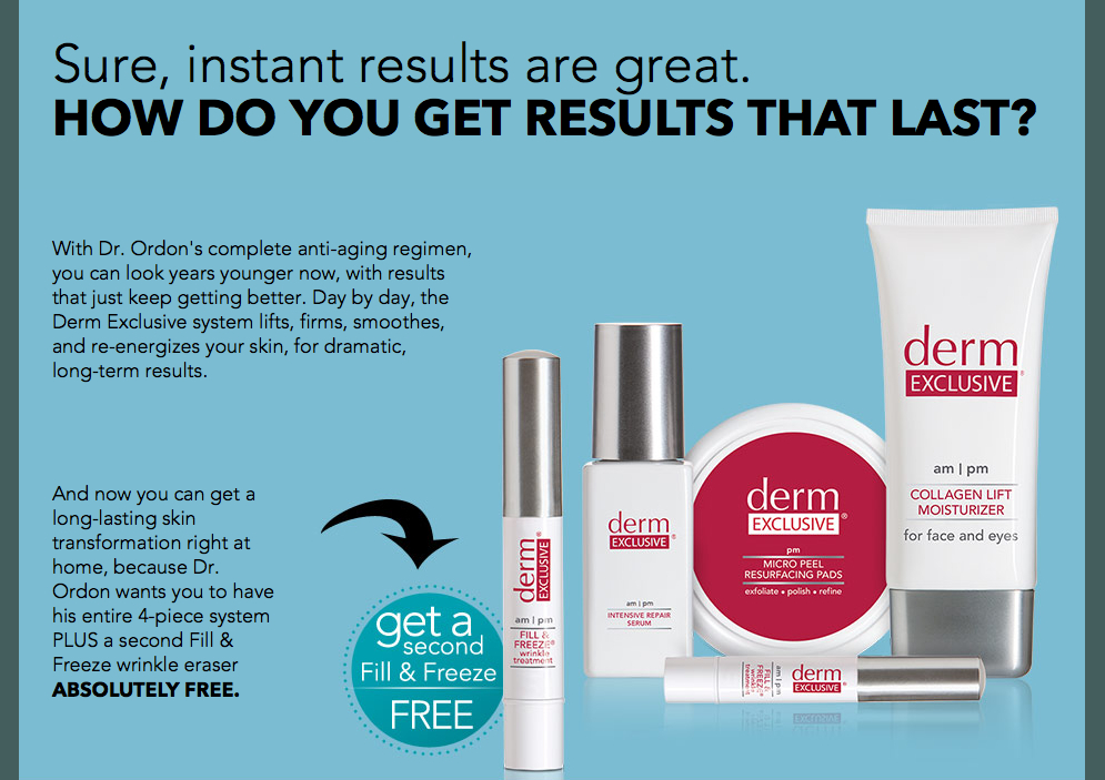 Derm Skin Care Results