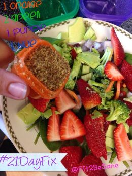 21 Day Fix Salad