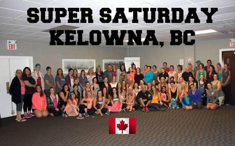 Beachbody Super Saturday in Kelowna Canada