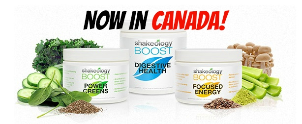 Buy NEW Shakeology BOOSTS in Canada