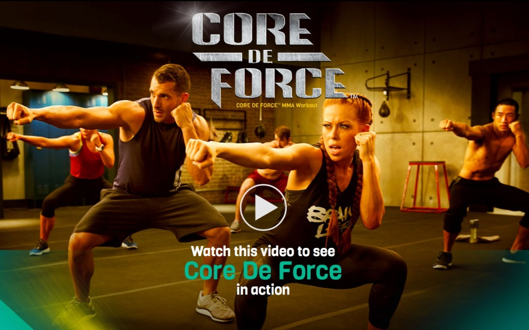 Beachbody and Joel & Jericho's CORE DE FORCE MMA Workout
