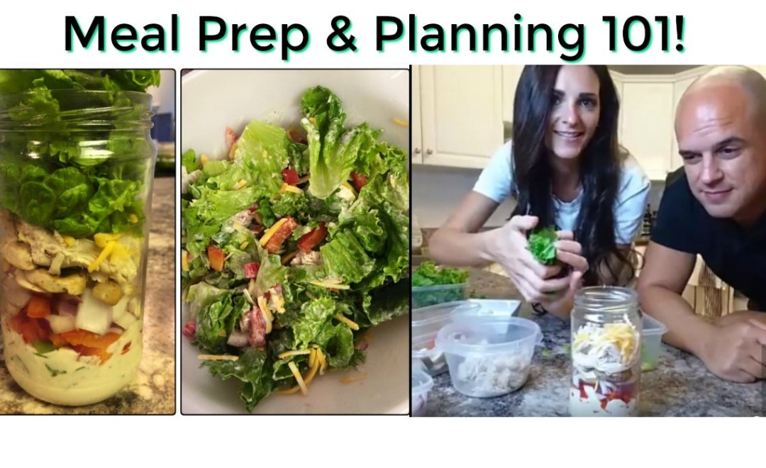 Top 5 EASY Meal Prep & Meal Planning Tips