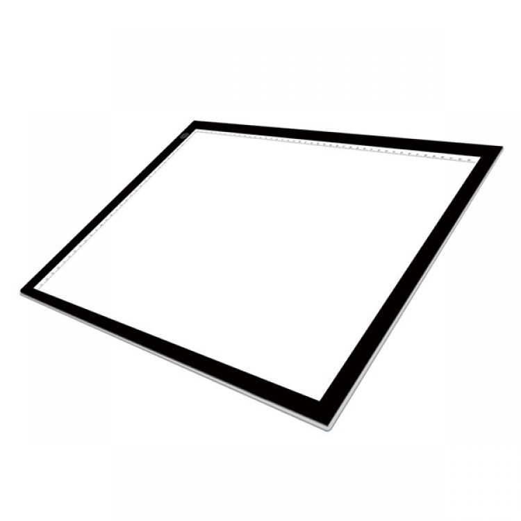 Huion A3 LED Tracing Board: Ultra-Slim 8mm Touch-Variable