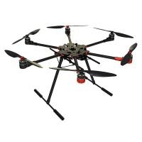 HF600 600mm 6-Axis Carbon Fiber Folding Hexacopter Frame