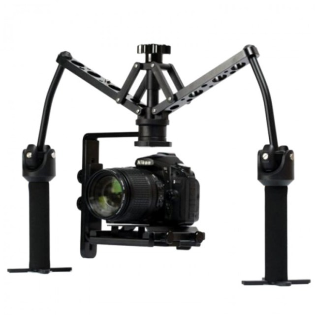 DUAL GIMBAL Handheld Stabilizer Video Steadicam Steady for ...