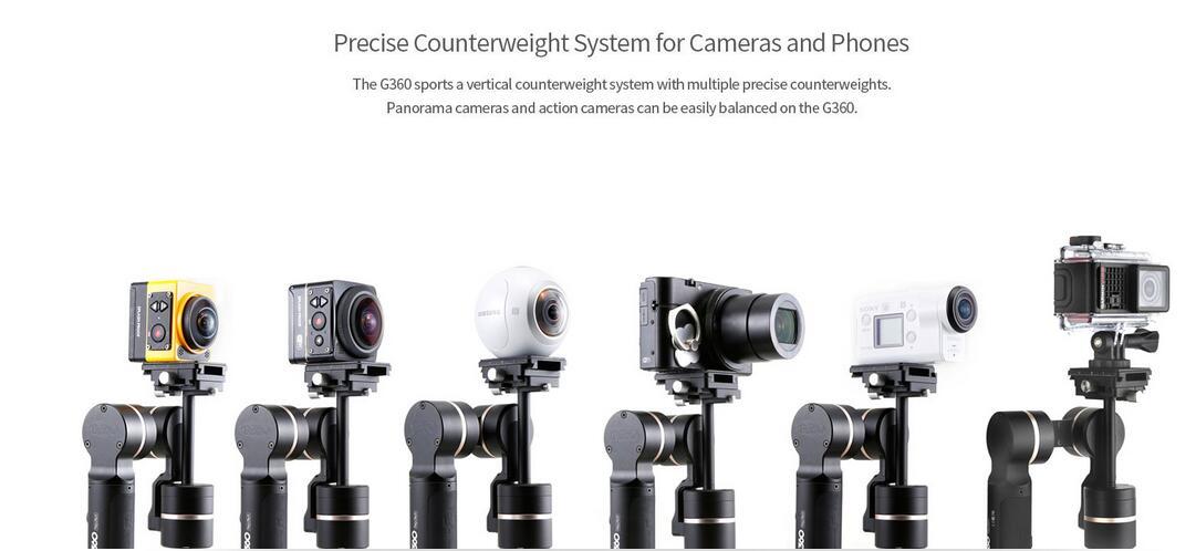 Feiyu Tech G360 Panoramic Camera Gimbal for Smart Phone