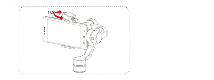 AFI V5 3-Axis Handheld Gimbal Stabilizer for Cellphones
