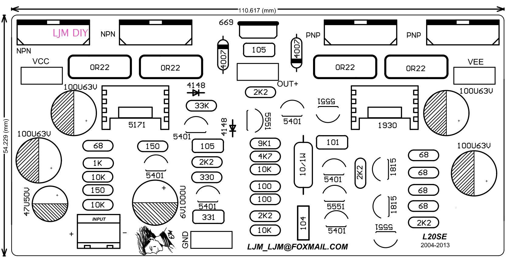 Assembled L20 Se 350w 350w Simplified Dual Channel 2ch