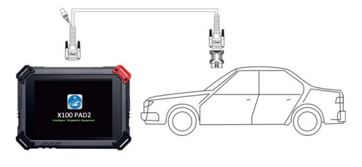XTOOL X-100 PAD2 Auto Car Key Programmer Support EPB EPS