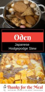 oden Japanese Hodgepodge Stew