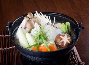 uosuki fish sukiyaki