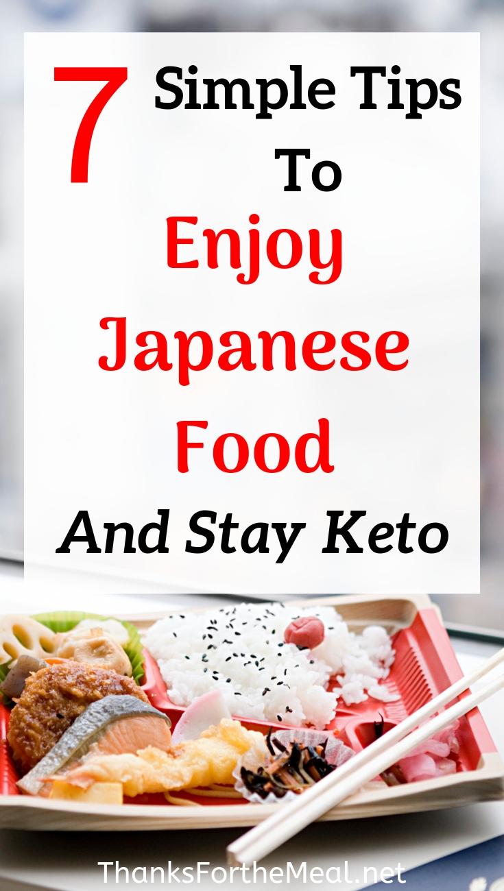 keto diet japanese food