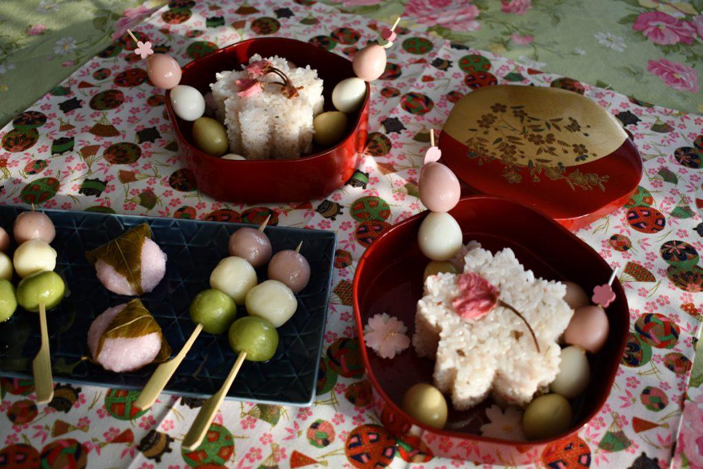 Hanami Bento picnic at home