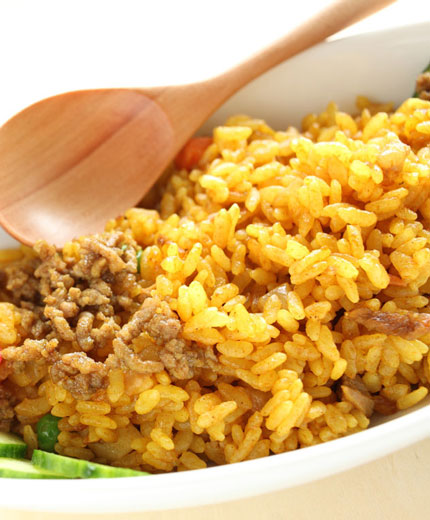 japanese dry curry pilaf recipe