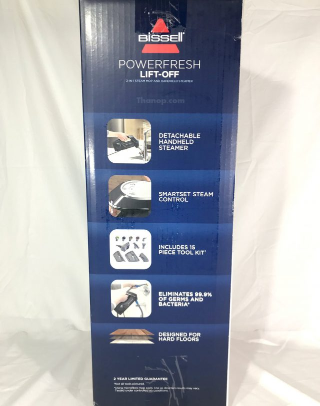 BISSELL PowerFresh Lift-Off Box Right