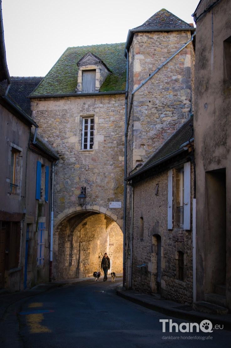 Fenna en Jindi in Decize, Bourgogne Frankrijk