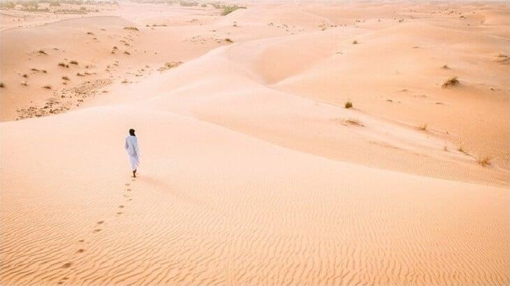 تفسير رؤية حلم المشي في الصحراء
