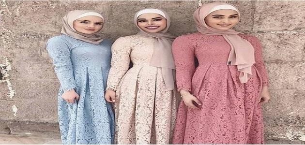 طريقة تنسيق ألوان الملابس للمحجبات معلومة ثقافية