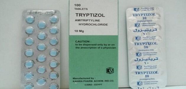 معلومات عن دواء تربيتيزول Tryptizol والاعراض الجانبية ...
