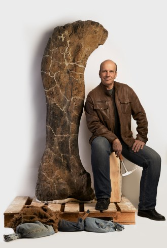 A 6.5 foot femur from Dreadnoughtus found in Patagonia.