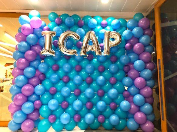 Balloon Backdrop for ICAP