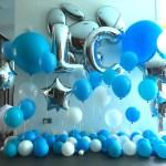 Helium Balloon Backdrop Decoration